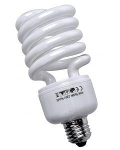 Lampada a risparmio energetico 40W E27 spirale luce fredda 6500°K 5455530