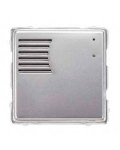Modulo pulsantiera esterno alluminio senza tasti 1 modulo Sinthesi Urmet 1148/20