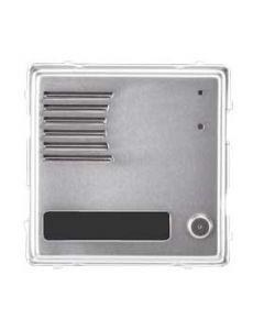 Modulo pulsantiera esterno in alluminio 1 tasto 1 modulo Sinthesi Urmet 1148/21