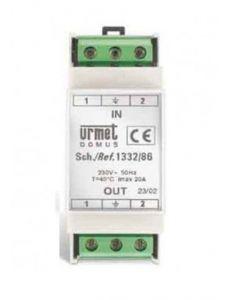 Filtro linea alimentazione Domus Sideltronic 230 VCA 4000VA Urmet 1332/86
