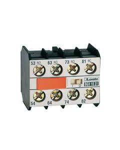 Contatti ausiliari 3na+1nc per minicontattori LOVATO 11BGX1031