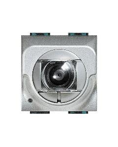 Telecamera light tech a colori incasso 2 moduli