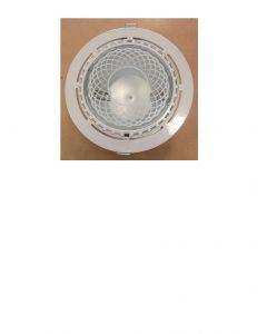 Faretto inc.marte 220 bc 150w hli-t2 rx7s c/lamp.3000^k+alim