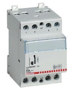 CONTATTORE 63A MODULARE 4 CONTATTI NA 400V BOBINA 230V BTICINO FC4A6/230N