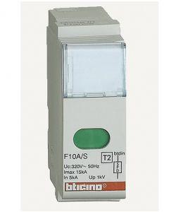 CARTUCCIA DI RICAMBIO PER SCARICATORE 15KA BTICINO F10A/S