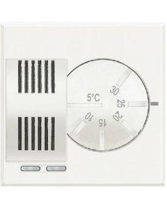 Axolute termostato condizionamento e riscaldamento 230v bianco