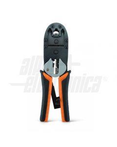 Pinza crimpatrice Plug RJ45 - RJ12 - RJ11 -  RJ9
