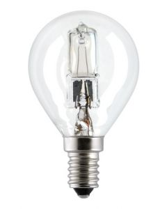 Lampada Sfera Ecoalogena E14 28W 230V BEGHELLI 54911