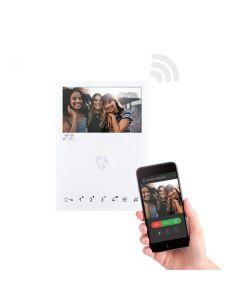Monitor mini colori WI-FI schermo LCD soft touch sistema SIMPLEBUS