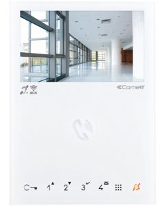 """Monitor mini a colori vivavoce WI-FI sistema VIP schermo 4.3""""-16:9"""