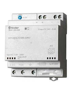 Alimentatore switching 24v guida din 60w FINDER 786012302403