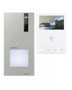 kit videocitofono monofamiliare quadra e mini hf simple comelit 8461v