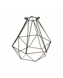 Gabbia black Diamond in metallo modello diamante nero AG302