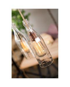 Sospensione Vintage Bottiglia in vetro AT323
