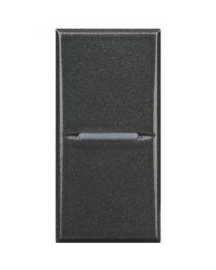 Deviatore 10A assiale Axolute scura BTICINO HS4003N