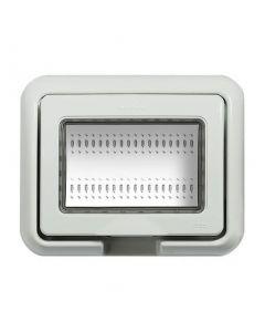 Idrobox matix coperchio 3 posti Grigio IP55