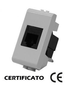 PRESA TELEFONICA RJ11 MAXTIX COMPATIBILE BTICINO AM5958/11