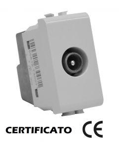 PRESA TV DIRETTA COASSIALE MATIX COMPATIBILE BTICNO AM5202D