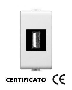 PRESA USB 5VDC  250V  2.1A COMPATIBILE MATIX