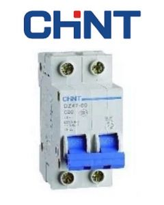 Interruttore magnetotermico 10A 1P+N 2 moduli CHINT 41221