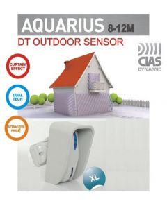 Sensore doppia tecnologia tenda per esterno 12MT CIAS AQUARIUS XL