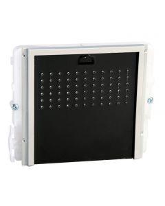 modulo 0 pulsanti per unità audio serie ikall - black