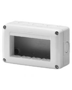 Contenitore 4 posti system GEWISS GW27004