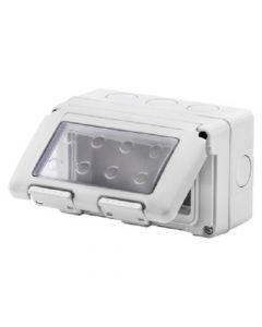GEWISS GW27044 Contenitore scatola 4 posti IP55 stagno system