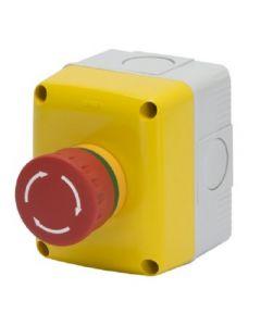 Pulsante di emergenza 1NA + 1NC IP66 GEWISS GW27202