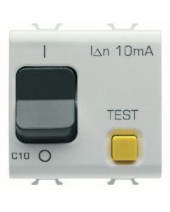Interruttore magnetotermico differenziale 1 polo 10a bianco GEWISS 10485