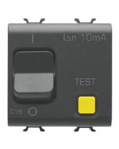 Interruttore magnetotermico differenziale 1 polo 16a nero GEWISS 12488