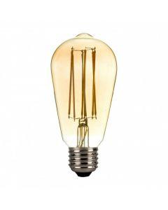 Lampadina a led ST64 edison gabbia dimmerabile 4 watt DL642