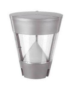 Lampione da Giardino Chone E27 Grigio Metal