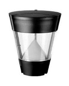 Lampione da Giardino Chone E27 Nero