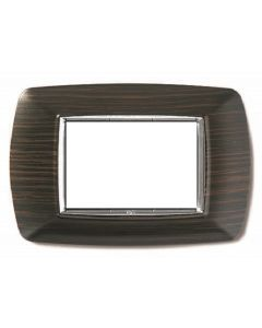 LIFE PLACCA 3 POSTI COLORE WENGE' ECL 2983WG
