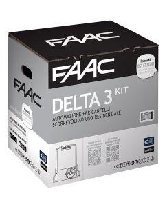 Delta 3 kit motore scorrevole elettromeccanico max 900 kg FAAC 105630445