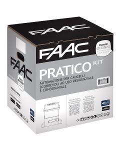 FAAC PRATICO KIT MOTORE 746 OLEODINAMICO CANCELLO 600 KG SCORREVOLE 10564944