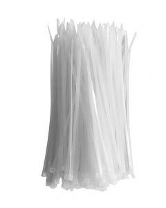 FASCETTA CM 20X2.6 BIANCHE POLIAMMIDE RESISTENTE RAGGI UV