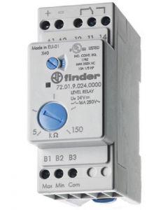Relè controllo di livello regolabile per liquidi 24VAC FINDER 72.01.8.024.0000