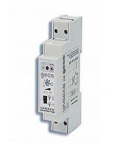 Rele luci scale con interruttore timer da 3 sec a 15min 230vca GECA 31051369