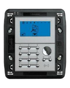 Tastiera con display Axolute chiara My Home per scatola 506E BTICINO HC4608