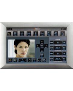 """Monitor touch screen Multimedia Axolute chiara schermo 10"""" lcd1 6/9 BTICINO HC4690"""