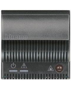 Ripetitore di segnale per rilevatore Gas Axolute scuro BTICINO HS4520