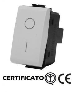 INTERRUTTORE BIPOLARE 2P 16A MATIX COMPATIBILE BTICINO AM5011
