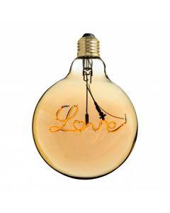 Lampadina a led con scritta love DLOVE