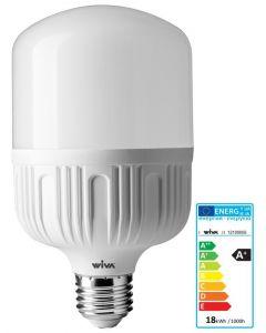 LAMPADINA LED LUCE FREDDA 18W = 104W ATTACCO E27