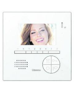 Videocitofono vivavoce classe 100 v12e vivavoce 2fili Bticino 344522