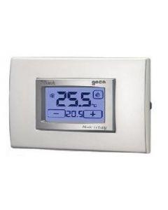 Termostato incasso digitale touch screen colore argento GECA 35311705
