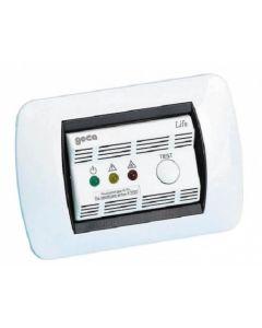 Rivelatore gas gpl life argento incasso 230v  GECA 36911033