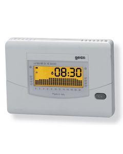 Cronotermostato digitale giornaliero settimanale con sensore umidità GECA 33001790